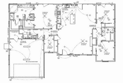 Electrical Wiring Plans For Specific Rooms